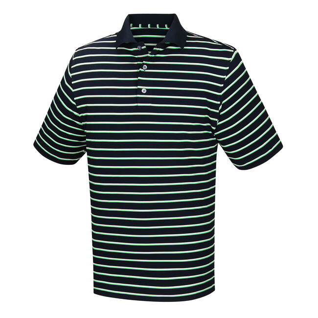 Lisle Stripe Knit Collar