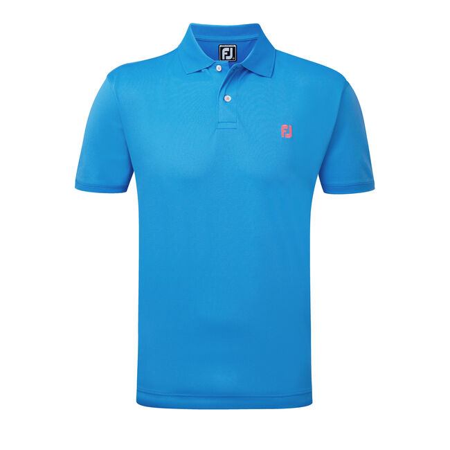 Stretch Pique FJ Chest Logo