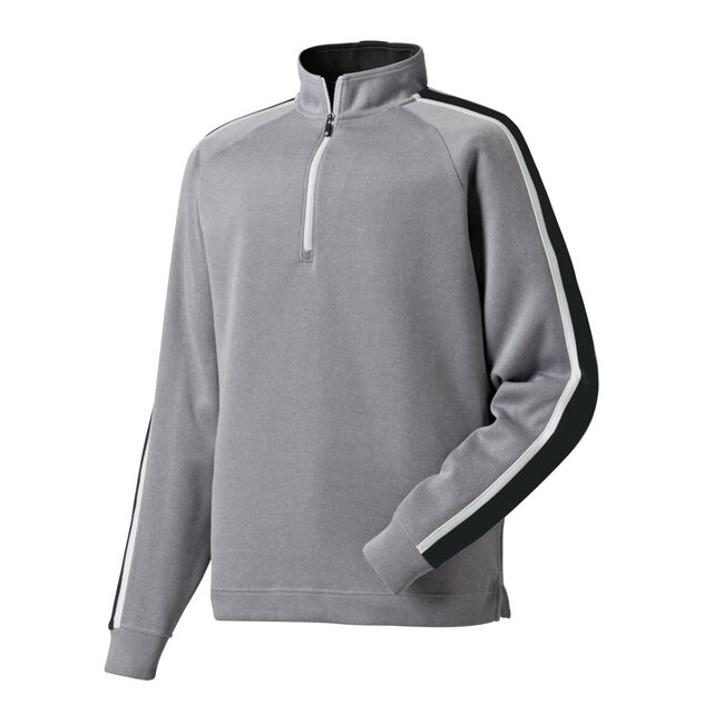 Flat Back Rib Half-Zip Pullover-Previous Season Style