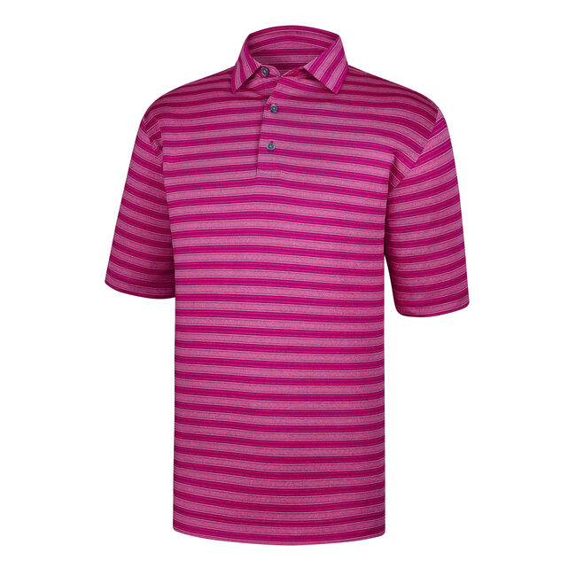 Stretch Lisle Tonal Stripe Self Collar