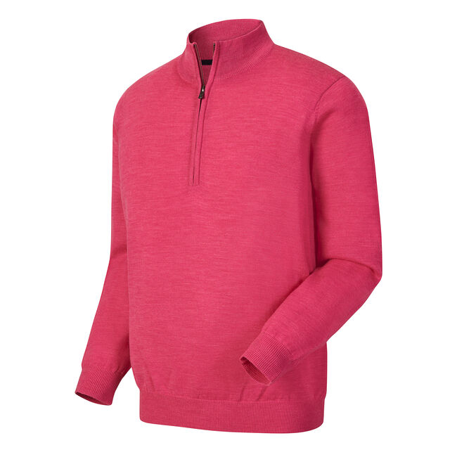 Merino Half-Zip Golf Sweater-Previous Season Style