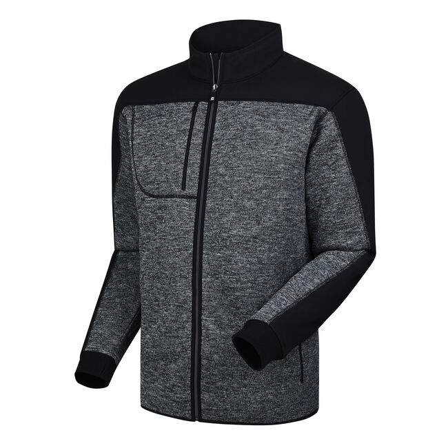 Fleece Knit Jacket-Previous Season Style