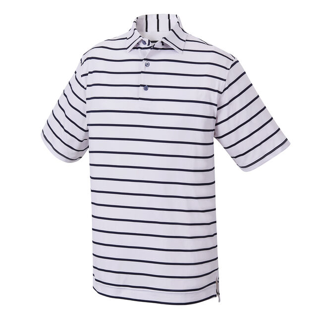 Stretch Lisle Stripe Self Collar-Previous Season Style