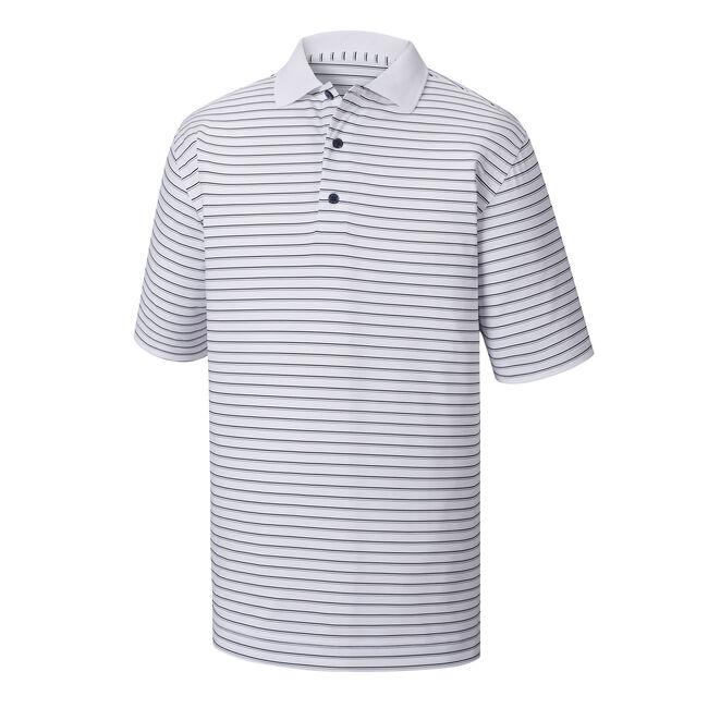 Lisle Pin Stripe Knit Collar-Previous Season Style