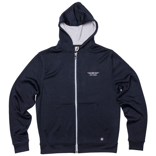 FJ Full-Zip Hoodie - Navy - Chest Embroidery