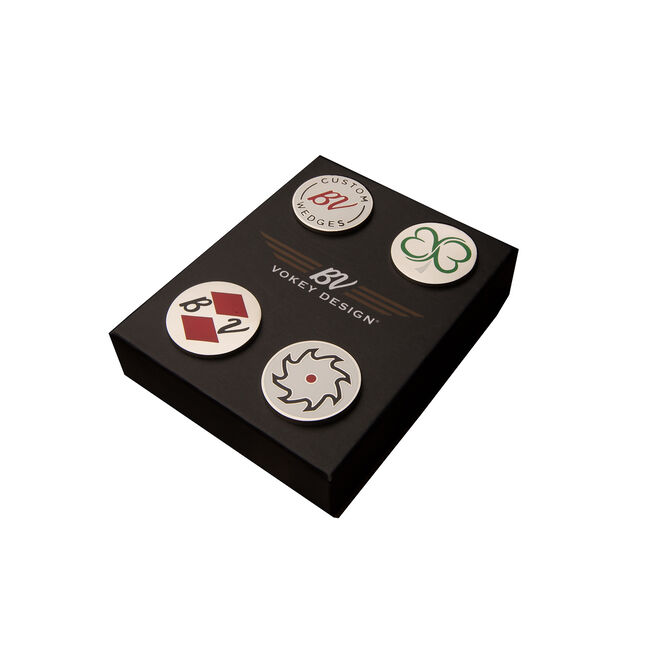 Vokey Design 4-Piece Ball Marker Set