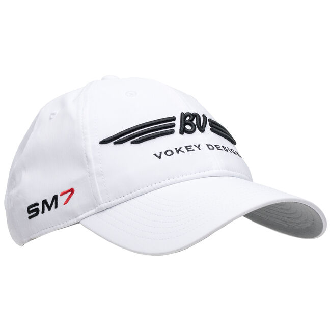 BV Wings/SM7 Tour Performance Cap - White