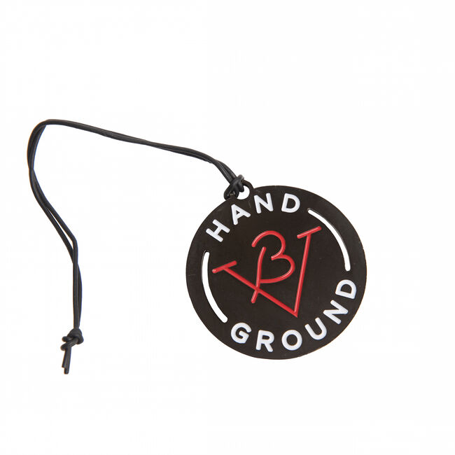 Hand Ground Bag Tag