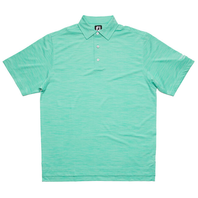 FJ Lisle Spaced Dyed w/ Self Collar - Spearmint