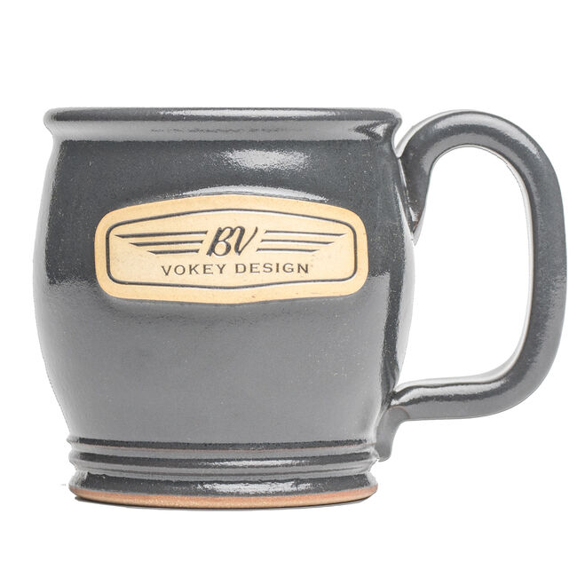 BV Wings Handcrafted Mug - Iron Grey