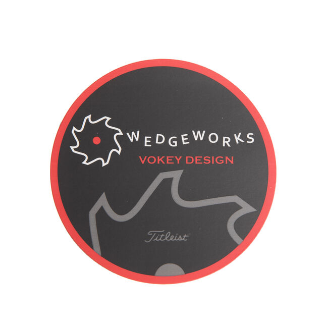 WedgeWorks Sticker