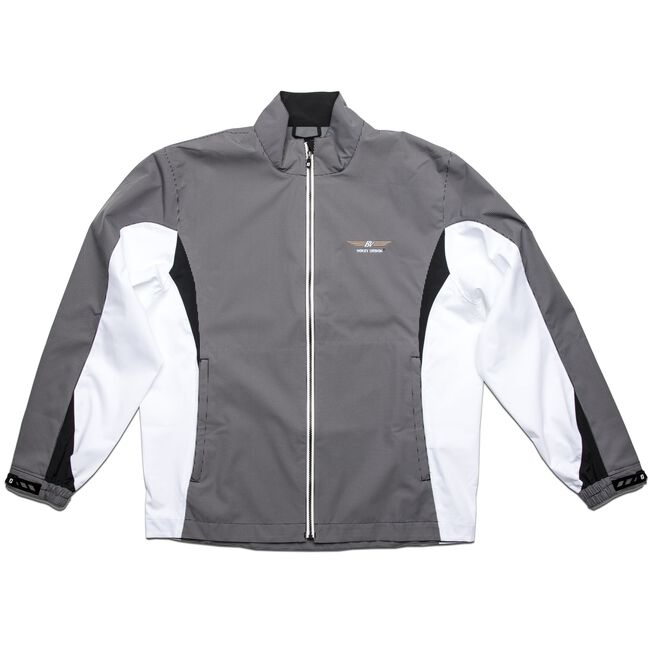 FJ HydroLite Rain Jacket - Black/White Check