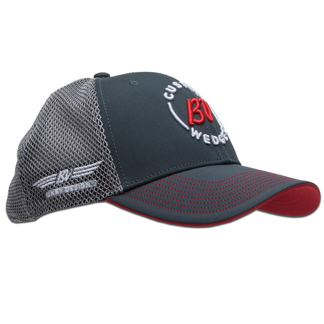 "Vokey Two Tone Mesh ""Trucker"" Cap - Charcoal/Red"