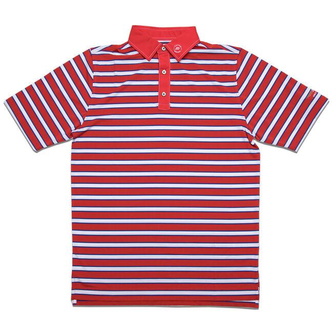 FJ Stretch Lisle Multi-Stripe - Athletic Fit - Red/White/Blue