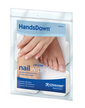 GRAHAM BEAUTY™ HANDSDOWN® NAIL WIPES SQUARES