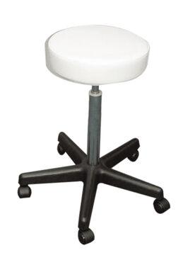 DANNYCO ROUND SEAT STOOL WHITE