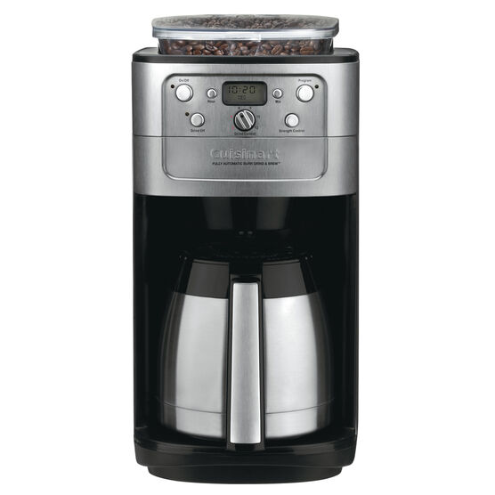 Cuisinart Coffee Maker Burr Grind And Brew Parts : Fully Automatic Burr Grind and Brew Thermal 12 Cup Coffeemaker Cuisinart
