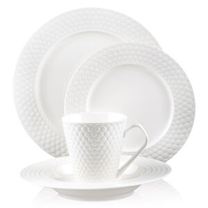 16-Piece Set Porcelain Dinnerware - Chailles Collection