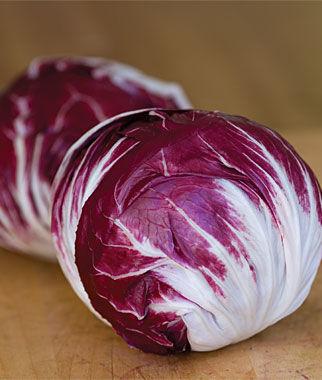 Radicchio, Variegated Chiogga 1 Pkt. Radicchio, Radicchio Seed, Radicchio Seeds, Salad Greens, Garden Seeds, Vegetable Seeds, Seeds