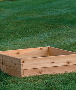 Cedar Raised Bed , , large