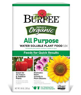 Burpee Organic All Purpose Water Soluble Plant Food 5-2-4, , large