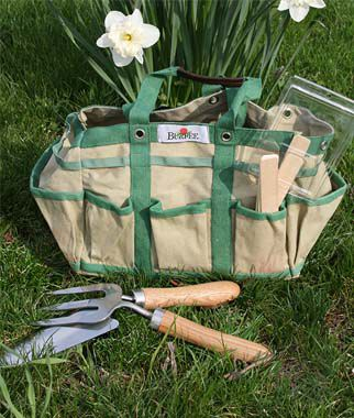 Gardener's Tools Time Easter Basket, , large