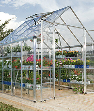 Snap N' Grow Greenhouse 8' x 8', , large