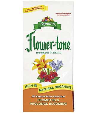 Fertlizers Home Organic Gardening Plant Food Espoma Flower tone