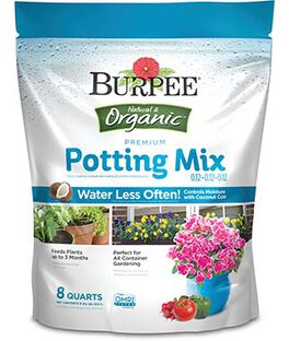 Burpee Natural Organic Premium Growing Mix 0.12-0.12-0.12, , large
