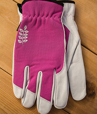 Women's Kobalt Goatskin  Gloves - Fuchsia, , large