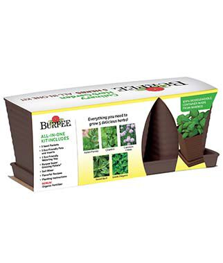 All-In-One Burpee Culinary Herb Garden, , large