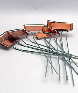 Copper Plant Markers (8 PK), , large