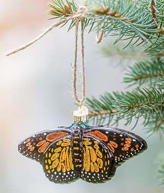 Monarch Butterfly Ornament, , large