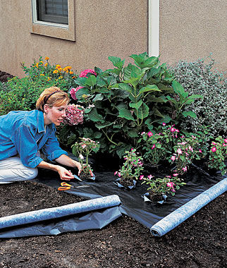 Weed Shield Premium Landscape Fabric Gardening Supplies and
