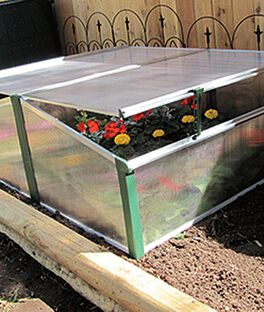 Easy Fix Double Cold Frame, , large