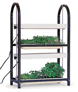 Burpee Two Tier Lighting Cart, , large