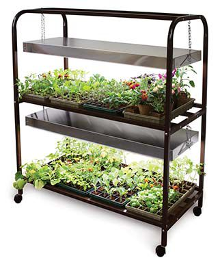 The Glow N Grow Light Garden, , large