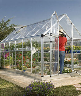 Snap N' Grow Greenhouse 6' x 12', , large