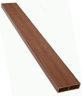Straight Composite Wood Grain Timber, , large