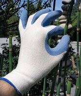 Gardening Gloves Bamboo Fit - Blue, , large