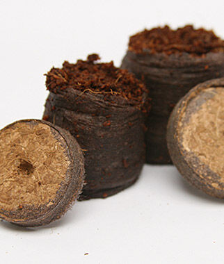 Netted Coir Pellets , , large