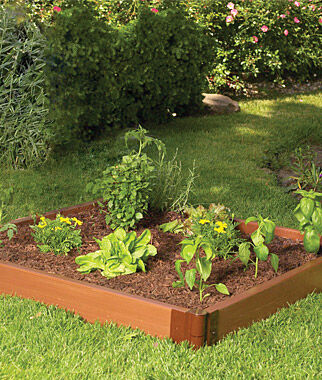4'x4' Complete Single Level Raised Bed , , large