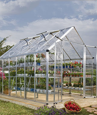 Snap N' Grow Greenhouse 8' x 12', , large