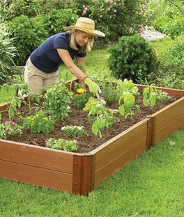 4'x8' Complete Double Level Raised Bed , , large
