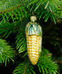 King Kool Corn Glass Ornament, , large