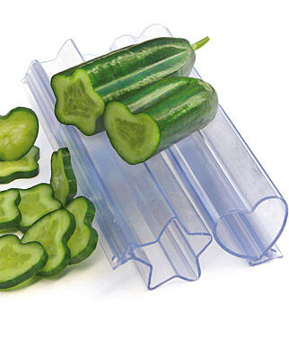 Heart and Star Vegetable Molds, , large