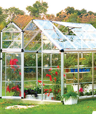 Snap N' Grow Greenhouse 6' x 8', , large