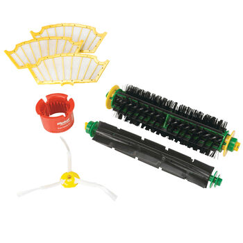 500 and Professional Series Replenishment Kit for Red and Green Cleaning Heads