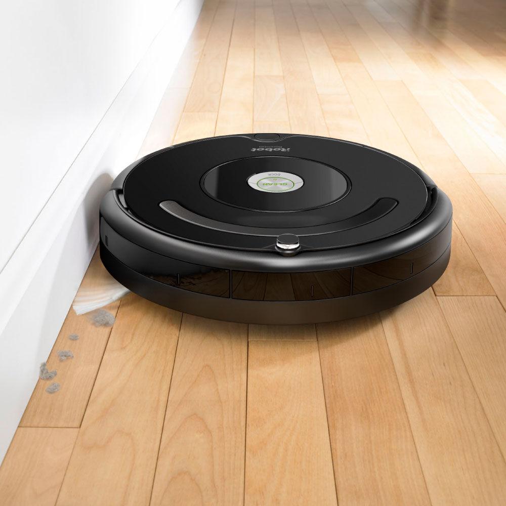 Roomba 614 robot vacuum irobot for Robot sweepy