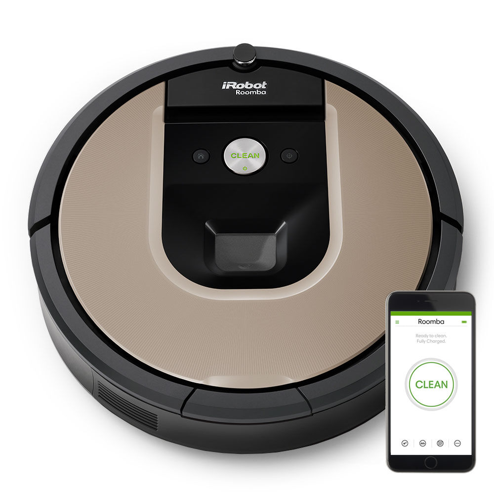 roomba vacuuming. Black Bedroom Furniture Sets. Home Design Ideas